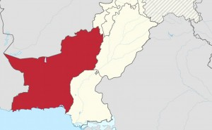 Location of Balochistan in Pakistan. Source: Wikipedia Commons.