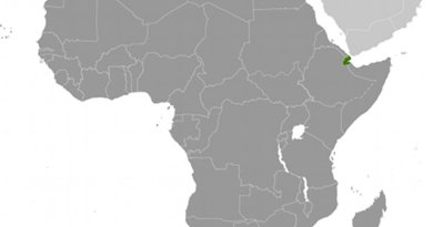 Location of Djibouti. Source: CIA World Factbook.