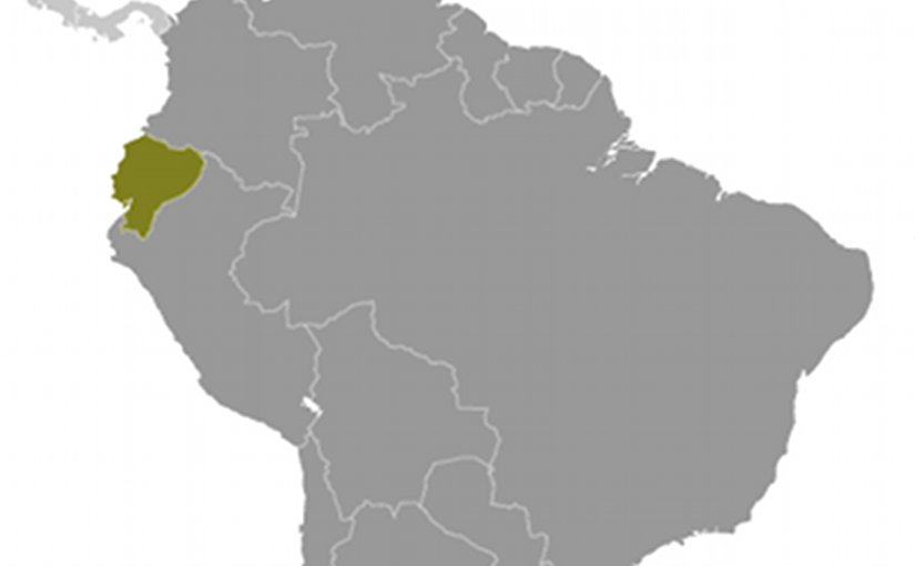 Location of Ecuador. Source: CIA World Factbook.