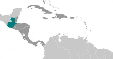Location of Guatemala. Source: CIA World Factbook.