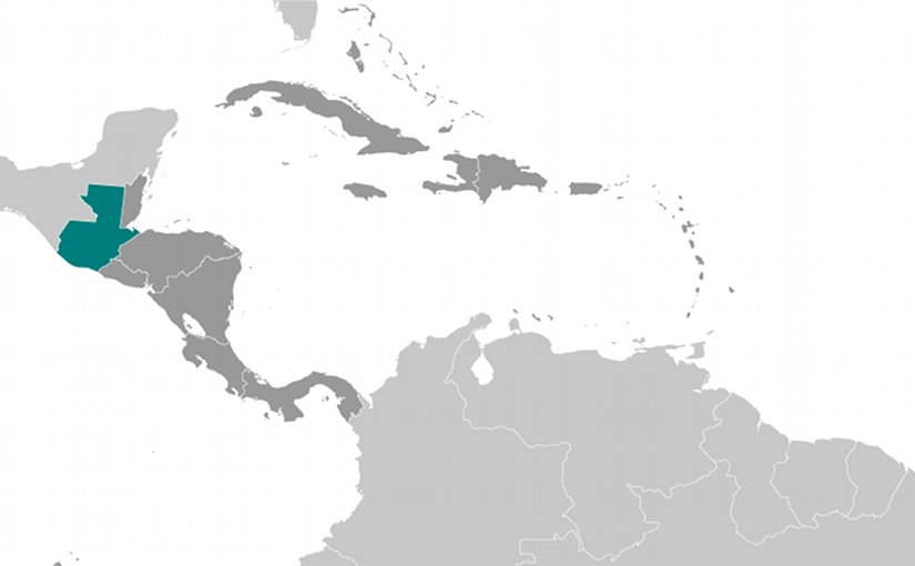 Location of Guatemala. Source: CIA World Factbook.