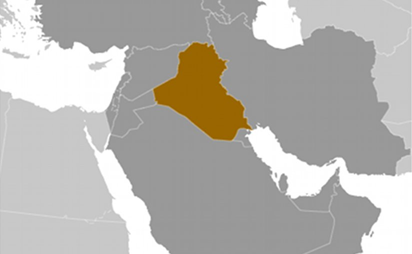 Location of Iraq. Source: CIA World Factbook.