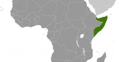 Location of Somalia. Source: CIA World Factbook