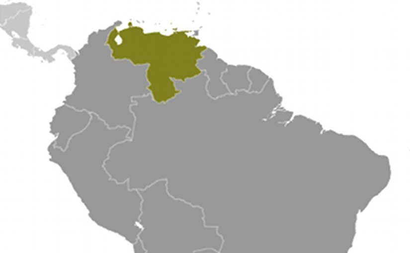 Location of Venezuela. Source: CIA World Factbook.
