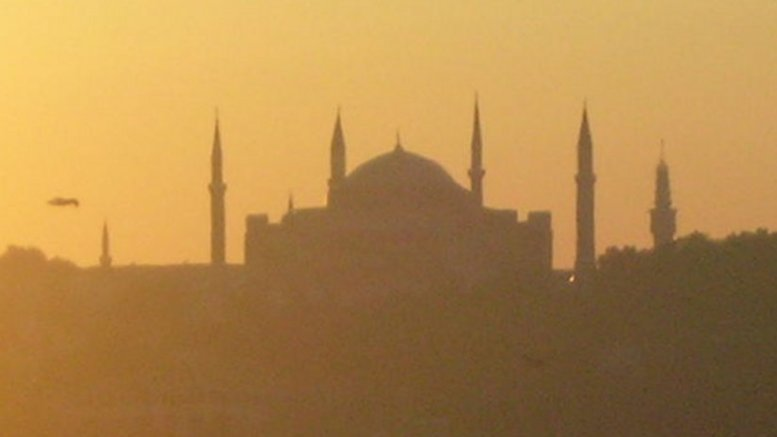 Mosque in Istanbul, Turkey.