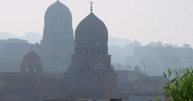 Mosques in Cairo, Egypt.