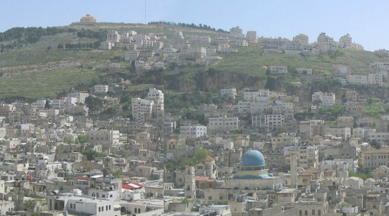 Nablus, West Bank, Palestine. Photo by Al Ameer son, Wikipedia Commons.
