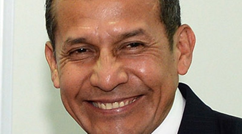 Peru's Ollanta Humala. Photo Credit: Gobierno de Chile, Wikipedia Commons.