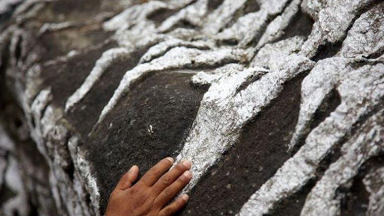 Prayer stone in Nepal