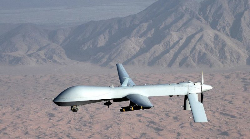 MQ-1 Predator unmanned aircraft. File photo: U.S. Air Force photo/Lt Col Leslie Pratt