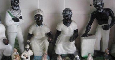 Umbanda Preto-velho spirits. Photo by Junius, Wikipedia Commons.