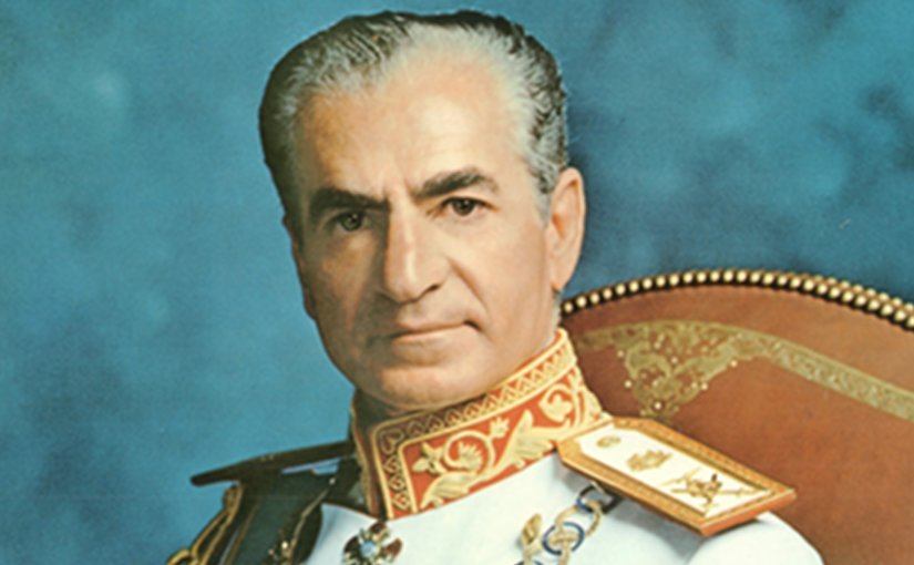 Mohammad Reza Pahlavi - late Shah of Iran. Photo Credit: Ghazarians, Wikipedia Commons.