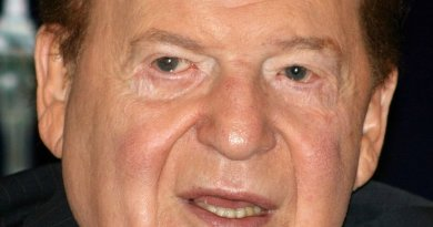 Sheldon Adelson. Photo by Bectrigger, Wikipedia Commons.