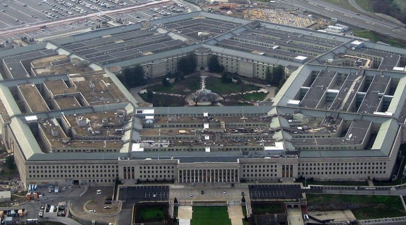 The Pentagon. Photo by David B. Gleason, Wikipedia Commons.