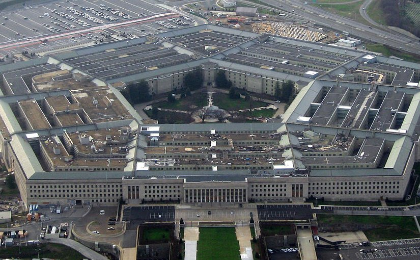 The Pentagon. Photo by David B. Gleason, Wikipedia Commons.