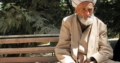 Elderly man from central Uzbekistan. Photo by Lageroth, Wikipedia Commons.