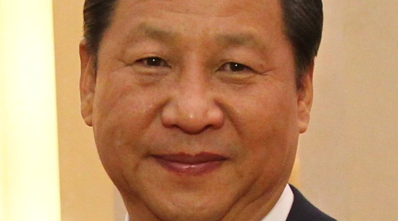 China's Xi Jinping. Photo by Antilong, Wikipedia Commons.