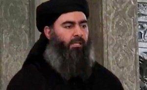 Islamic State's Abu Bakr al-Baghdadi. Photo by Al-Furqān Media, official media arm of Islamic State terrorist group.
