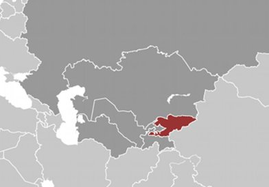 Location of Kyrgyzstan. Source: CIA World Factbook.