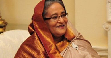 Bangladesh's Sheikh Hasina. Photo Credit: UK Prime Minister's Office, Wikipedia Commons.