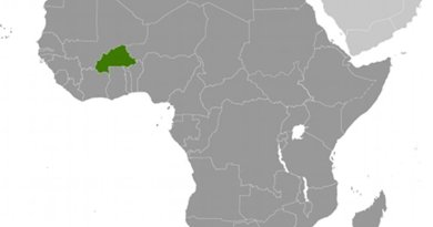 Location of Burkina Faso. Source: CIA World Factbook.