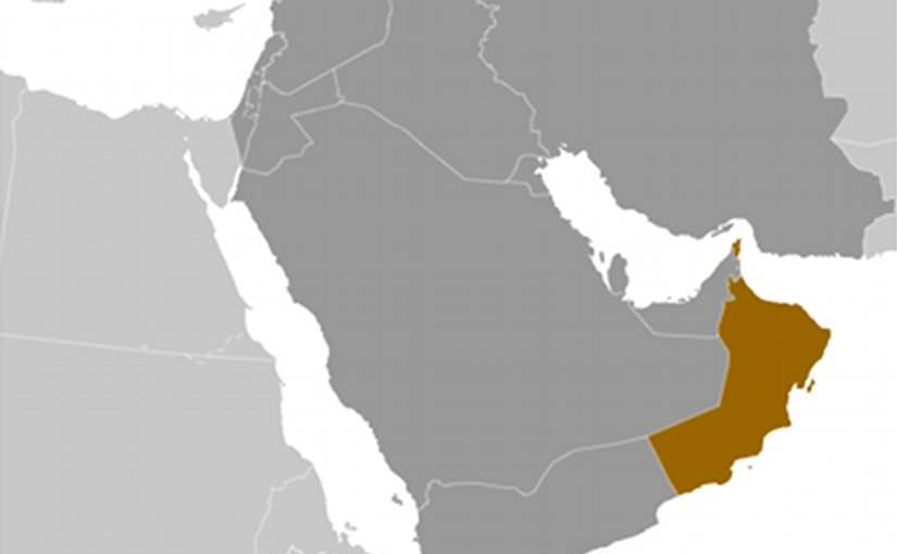 Location of Oman. Source: CIA World Factbook.