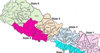 Map of Nepal. Source: IDSA