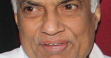 Sri Lanka's Ranil Wickremesinghe. Photo by Vikalpa, Groundviews, Wikipedia Commons.