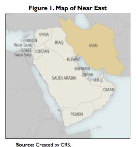 Figure 1. Map of Near East