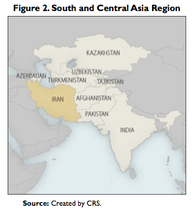 Figure 2. South and Central Asia Region