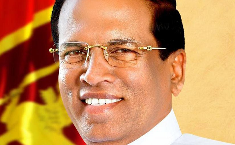 Sri Lanka's Maithripala Sirisena. Photo Credit: Sri Lanka government.