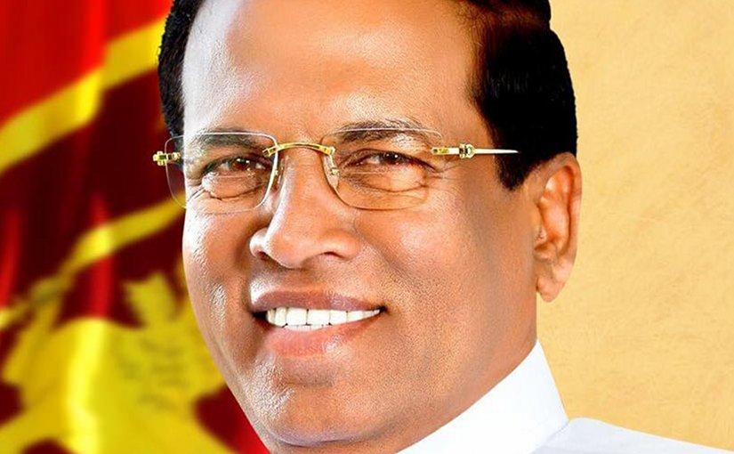 Sri Lanka's Maithripala Sirisena. Photo Credit: Sri Lanka government.