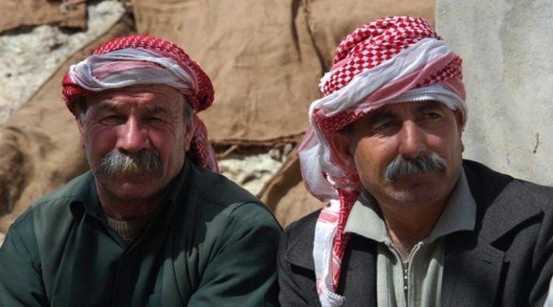 Yazidi men. File photo by Bestoun94, Wikipedia Commons.