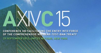 Comprehensive Nuclear Test-Ban Treaty (CTBT) UN Meeting.