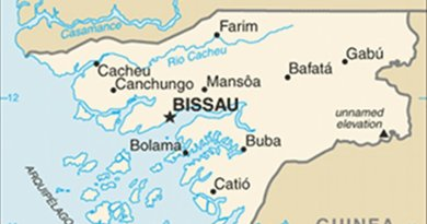 Map of Guinea-Bissau. Source: CIA World Factbook.