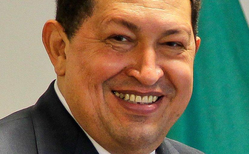 Venezuela's Hugo Chavez. Roberto Stuckert Filho/PR, Wikipedia Commons.
