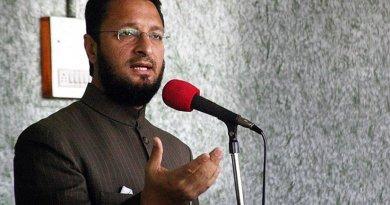 India's Asaduddin Owaisi. Photo by Littleowaisi, Wikipedia Commons.