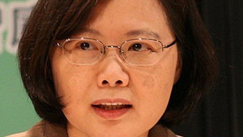 Taiwan's Tsai Ing-wen. Photo by David Reid, Wikipedia Commons.