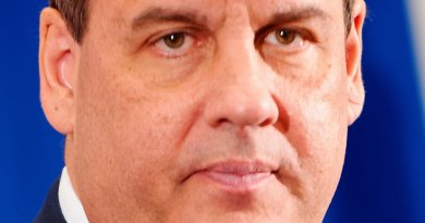 Chris Christie. Photo by Michael Vadon, Wikipedia Commons.