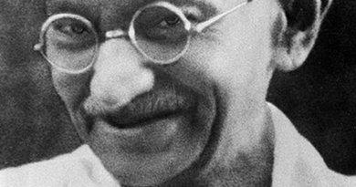 India's Mahatma Gandhi.