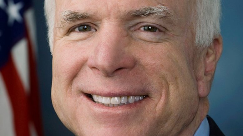 John McCain. Photo Credit: United States Congress, Wikipedia Commons.