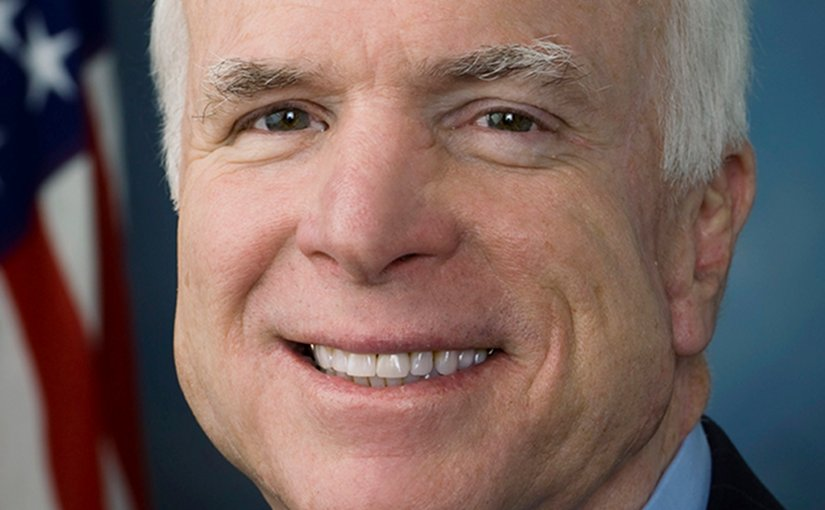 John McCain. Photo Credit: United States Congress, Wikipedia Commons.