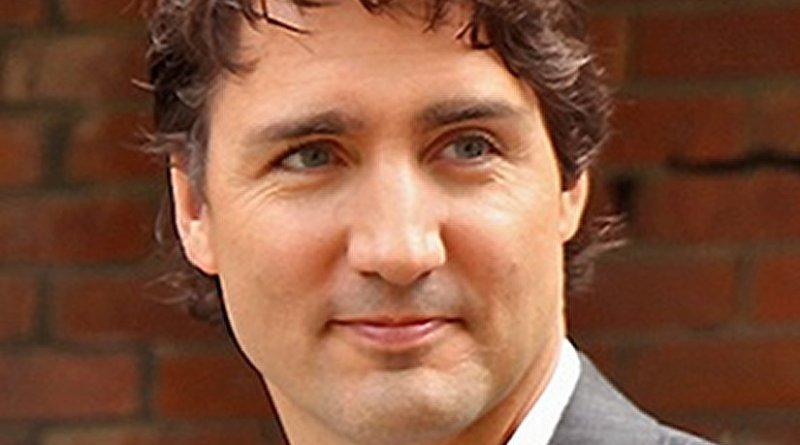 Canada's Justin Trudeau. Photo by Alex Guibord, Wikipedia Commons.