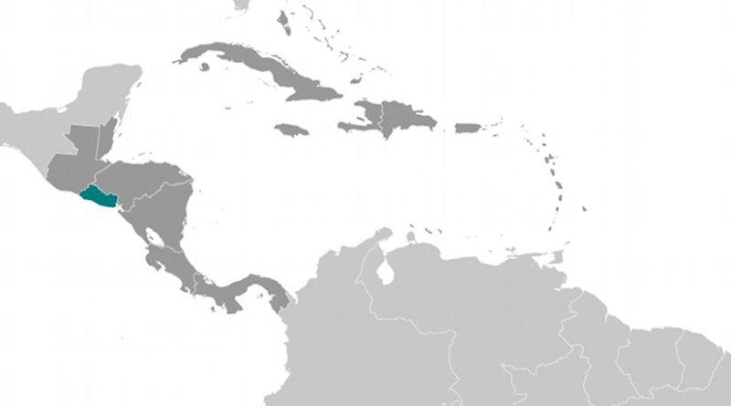 Location of El Salvador. Source: CIA World Factbook.