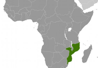 Location of Mozambique. Source: CIA World Factbook.