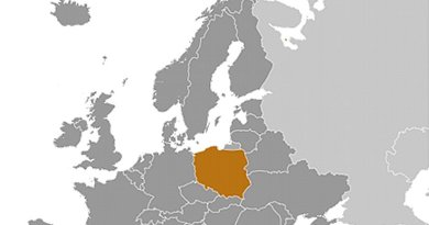 Location of Poland. Source: CIA World Factbook.