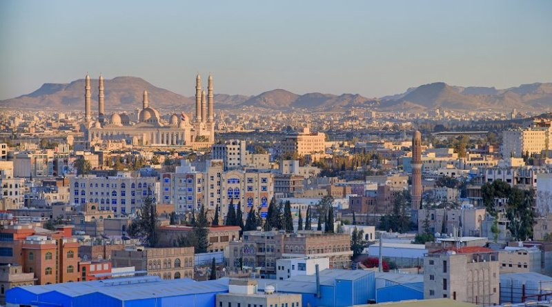 Sanaa, Yemen. Photo by AnasALhajj.Photography, Wikipedia Commons.