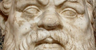 Bust of Socrates in Vatican. Photo by Jastrow, Wikipedia Commons.