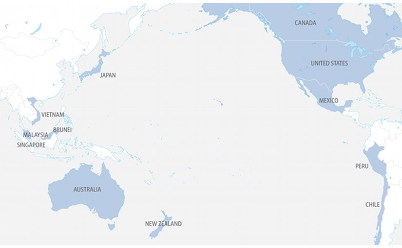 Countries that are members of Trans-Pacific Partnership (TPP). Source: FPRI