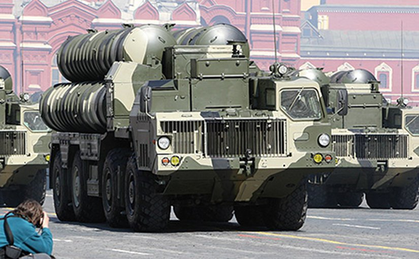 Russia's S-300 anti-aircraft missile system at the Victory Parade, Red Square. Photo Credit: Kremlin.ru, Wikipedia Commons.